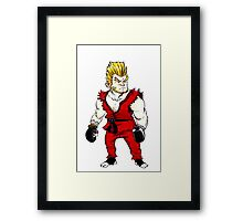 Paul Phoenix Tekken Framed Print