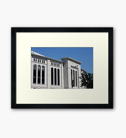The New Yankee Stadium Framed Print