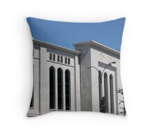 The New Yankee Stadium Throw Pillow