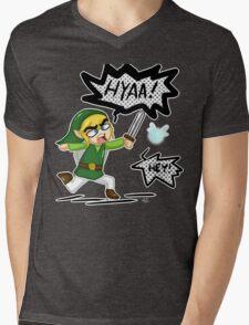 Hey! HYAA! Mens V-Neck T-Shirt