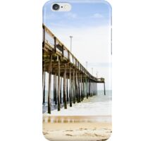 Fishing Pier - Ocean City, Maryland iPhone Case/Skin