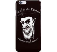 NosferatuDamus by Tai's Tees iPhone Case/Skin