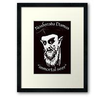 NosferatuDamus by Tai's Tees Framed Print