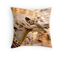 Carousel Horsee Throw Pillow