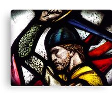 Stained Wallace Canvas Print