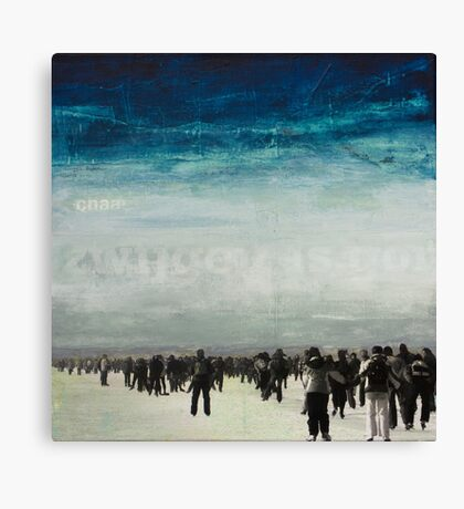 WHAT ARE WE WAITING FOR Canvas Print