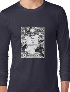 The Spooky Graveyard Long Sleeve T-Shirt