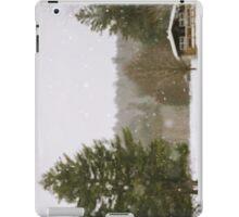 Green Mountain Winter iPad Case/Skin