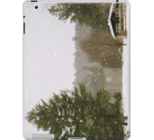 Green Mountain Winter iPad Case/Skin