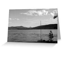 Lake George, NY, USA Greeting Card