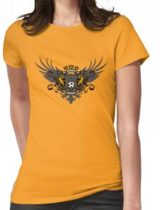 Soccer Coat of Arms Womens Fitted T-Shirt