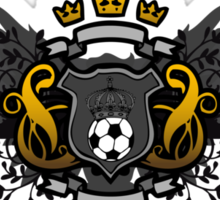 Soccer Coat of Arms Sticker