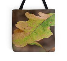 Multi Colored Oak Leaf Tote Bag