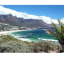Camps Bay and the Twelve Apostles Photographic Print