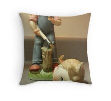 Careful With that Axe, Eugene Throw Pillow