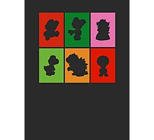 Mario and friends Photographic Print