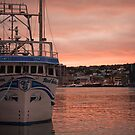 Harbourside Sunset by Colin Tobin