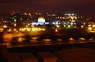 Night in Jerusalem by Moshe Cohen