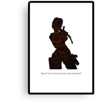 Tomb Raider II Canvas Print
