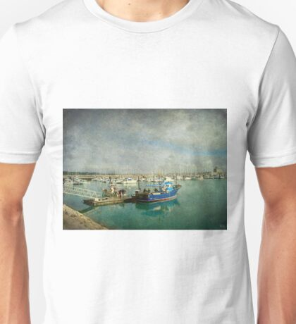 Back at the fishing port Unisex T-Shirt