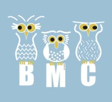 BMC Owls - Light Blue Kids Clothes