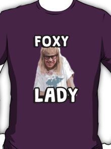Garth Algar Wayne's World Foxy Lady T-Shirt