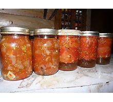 Quarts of Stewed Tomatoes Photographic Print