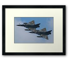 Ramex Delta Duo - Mirage 2000 Framed Print