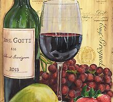 Red Wine and Pear by Debbie DeWitt