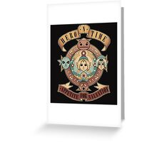 Appetite for salvation Greeting Card
