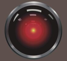 Inspired by 2001: A Space Odyssey - HAL 9000 by davidtoms