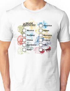 Drink Around the World - EPCOT Passport Unisex T-Shirt