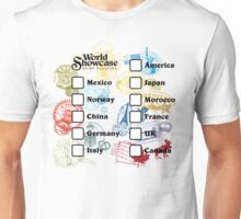 Drink Around the World - EPCOT Passport Unisex T-Shirt