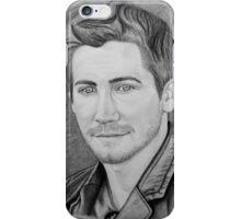 Jake Gyllenhaal Portrait iPhone Case/Skin