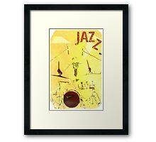Jazz Poster Framed Print