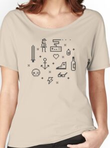 Let's pixelate Women's Relaxed Fit T-Shirt