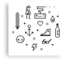 Let's pixelate Canvas Print