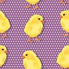 Chiken pattern by Richard Laschon