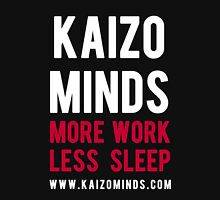 Kaizo Minds - More Work, Less Sleep Hoodie