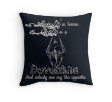 Always a Dovahkiin - TES V: Skyrim. Throw Pillow