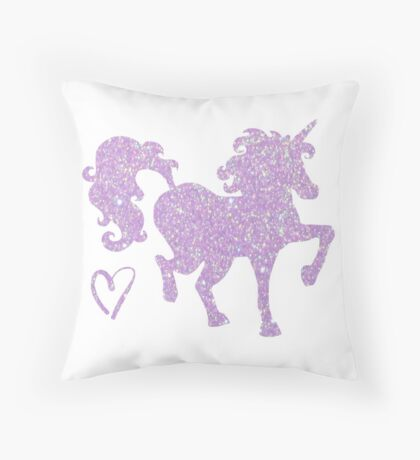 Periwinkle Wander Throw Pillow