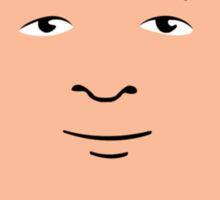 Bobby Hill Face Sticker