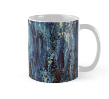 Abstract Art Acrylic Painting Original Titled: Blue Ocean Mug
