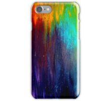 Abstract Painting on Canvas Titled: Wild Color iPhone Case/Skin