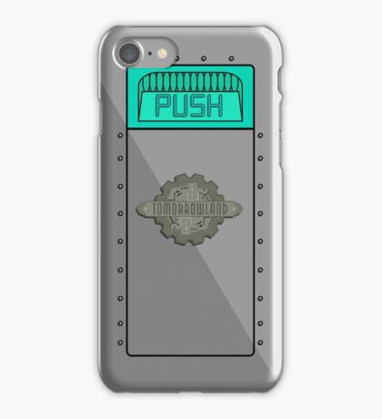 Tomorrowland Trash Can ( PUSH ) iPhone Case/Skin