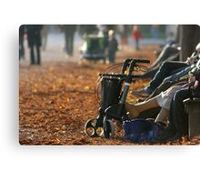 Break From Mobility Canvas Print