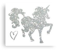 Glitter Dance Canvas Print