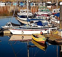 Safe in the harbour. by John (Mike)  Dobson