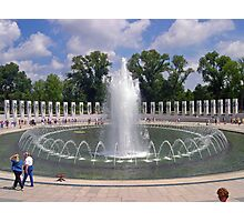 World War II Memorial Photographic Print