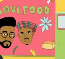 De la Soul - Food Truck Sticker